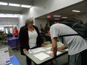 Voter Registration at K-State Salina
